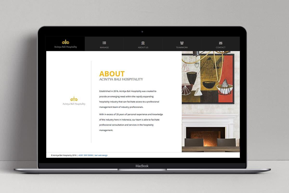 3 Achintya Hospitality Web Design Mocup