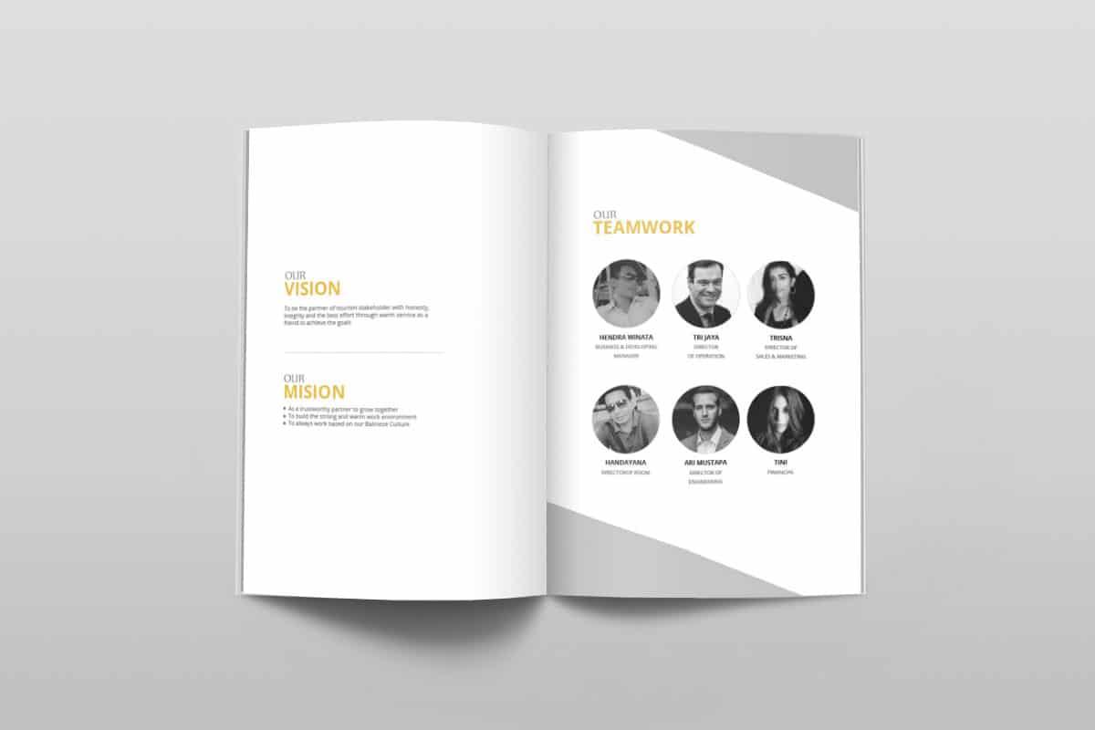 Acintya Hospitality Company Profile Page 6 7 Mocup