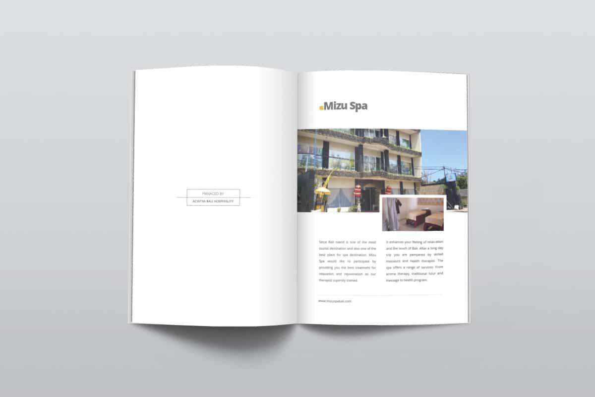 Acintya Hospitality Company Profile Page 8 9 Mocup