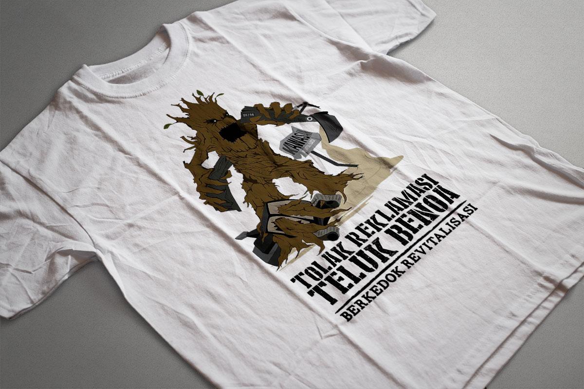 Manik Bumi Tshirt 1 Mocup