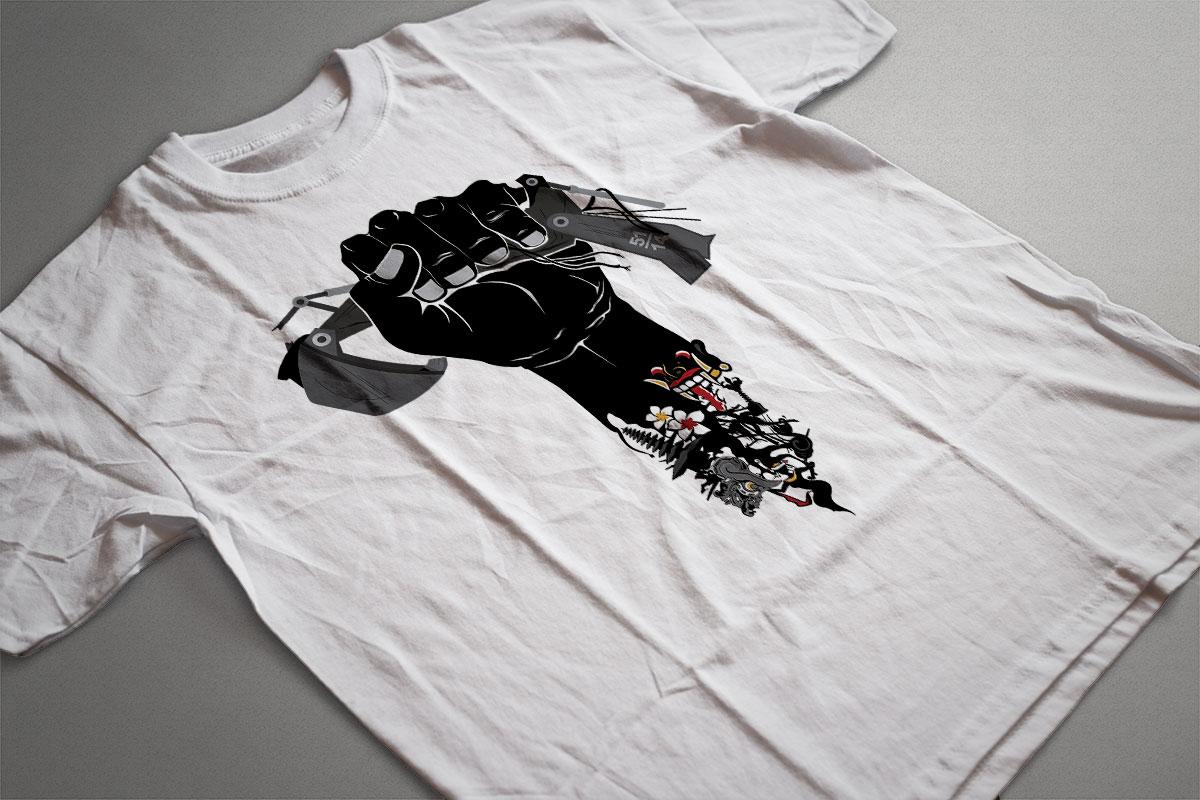 Manik Bumi Tshirt 2 Mocup