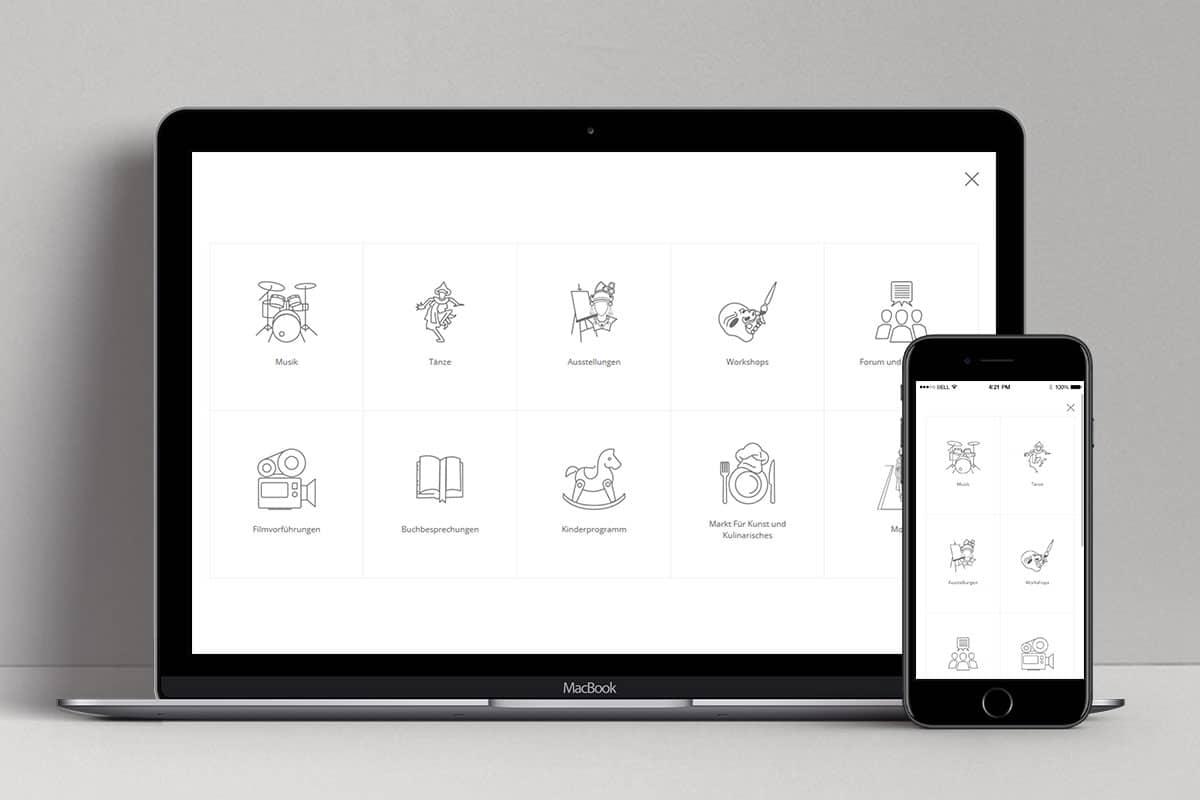 Pasar Hamburg 2017 Web Design Mocup 2