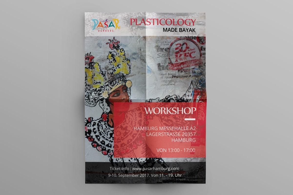 Poster Pasar Hamburg 2017 Plasticologi