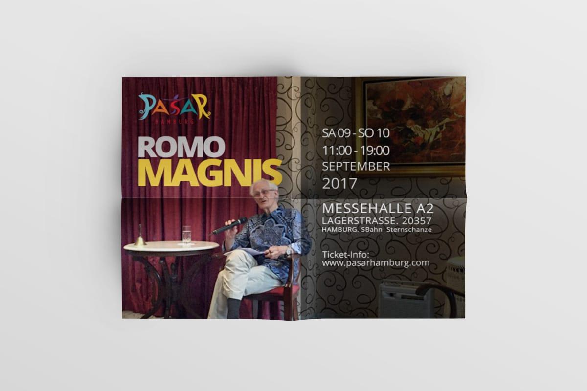 Poster Pasar Hamburg 2017 Romo Magnis