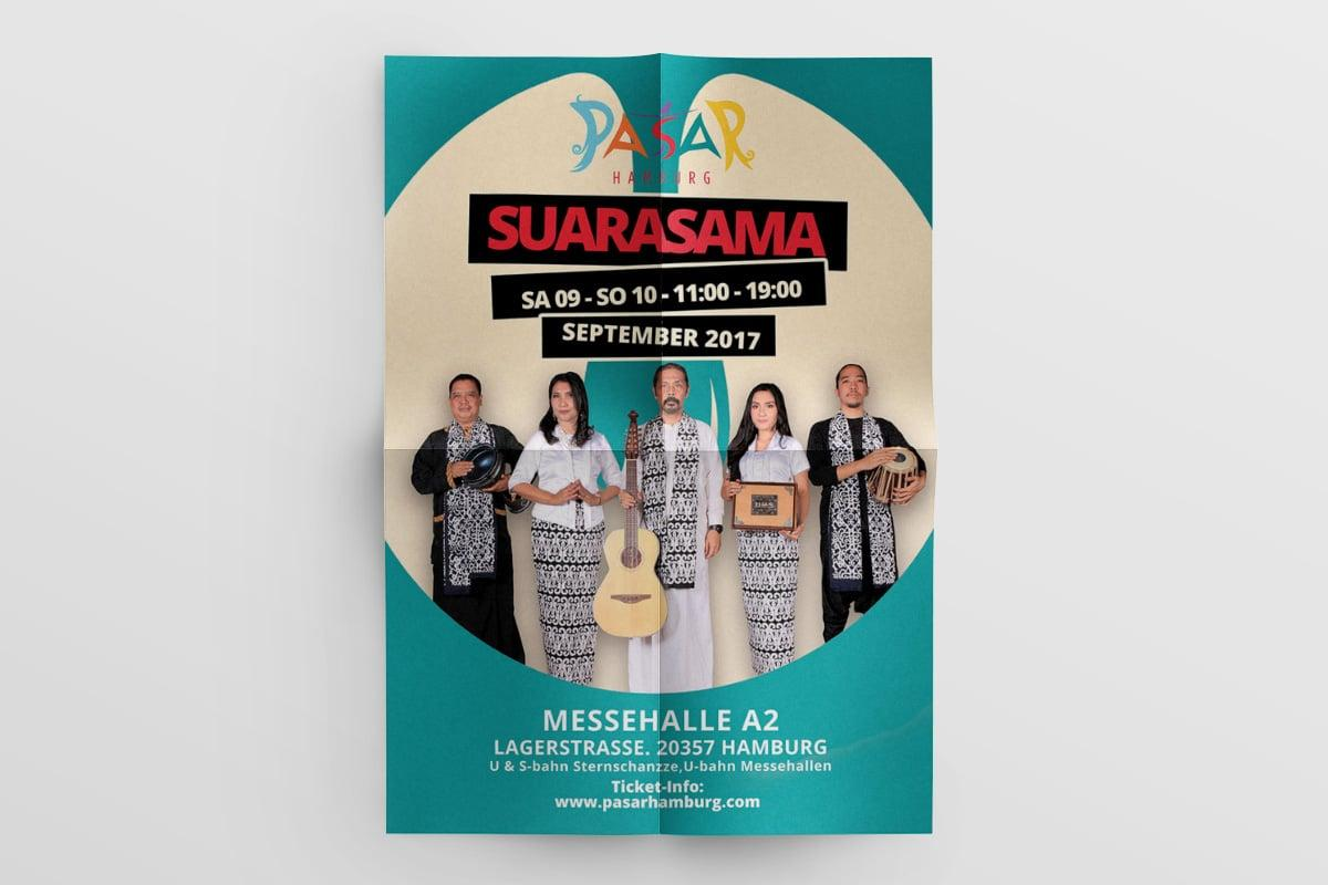 Poster Pasar Hamburg 2017 Suara Sama