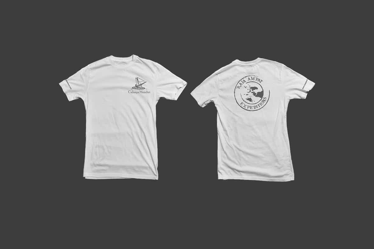 Seaquest White Tshirt Mocup 1