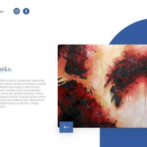 Artworks Portfolio Web Design