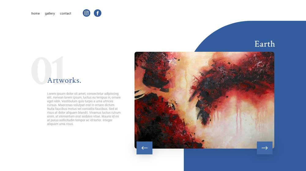 Artworks Portfolio Web Design - Paket Website Portfolio - Artworks Portfolio Web Design