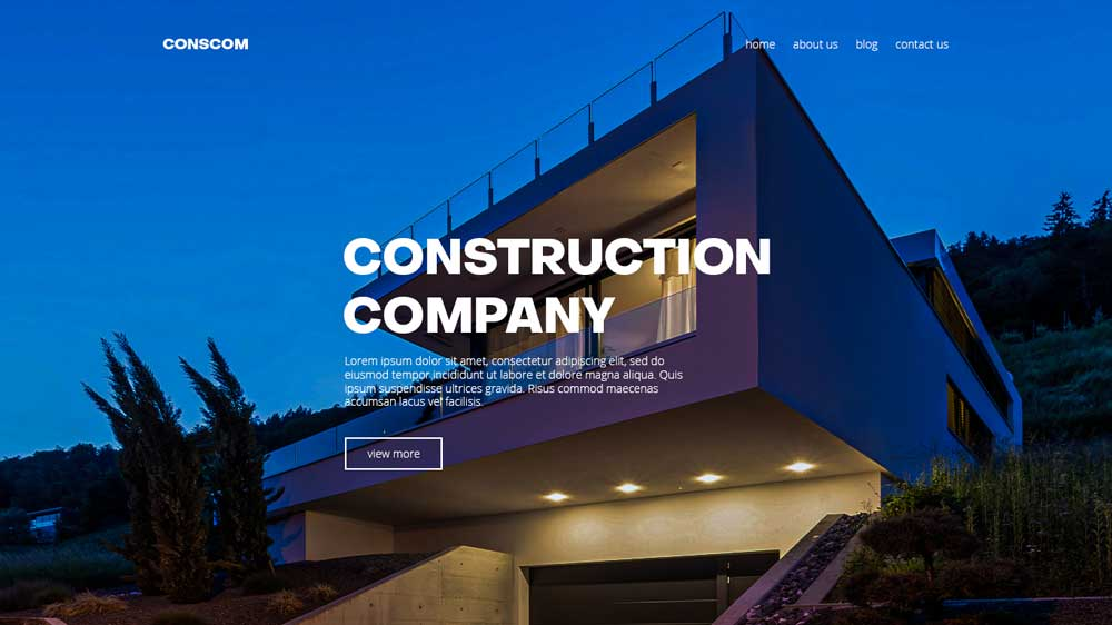 Conscom Property Agency Web Design - Paket Website Property Agency - Conscom Property Agency Web Design
