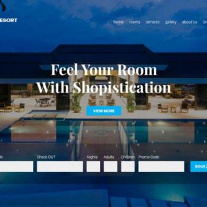 Havana Resort Property Agency Web Design