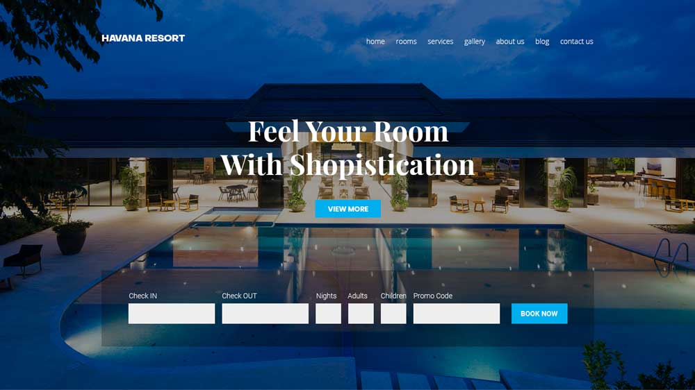 Havana Resort Property Agency Web Design - Paket Website Property Agency - Havana Resort Property Agency Web Design
