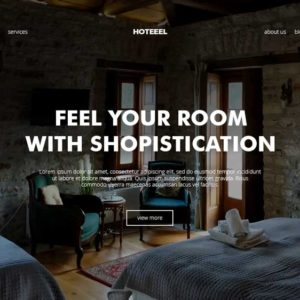 Hoteel Property Agency Web Design