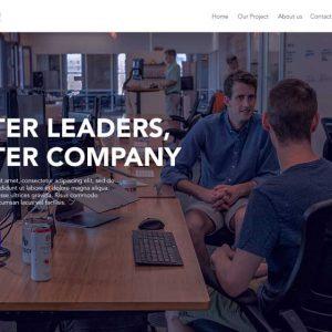 Hunter Consulting Company Profile Web Design