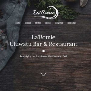 Labomie Website Restaurant