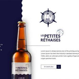 Les Petite Rethaises Company Profile Web Design