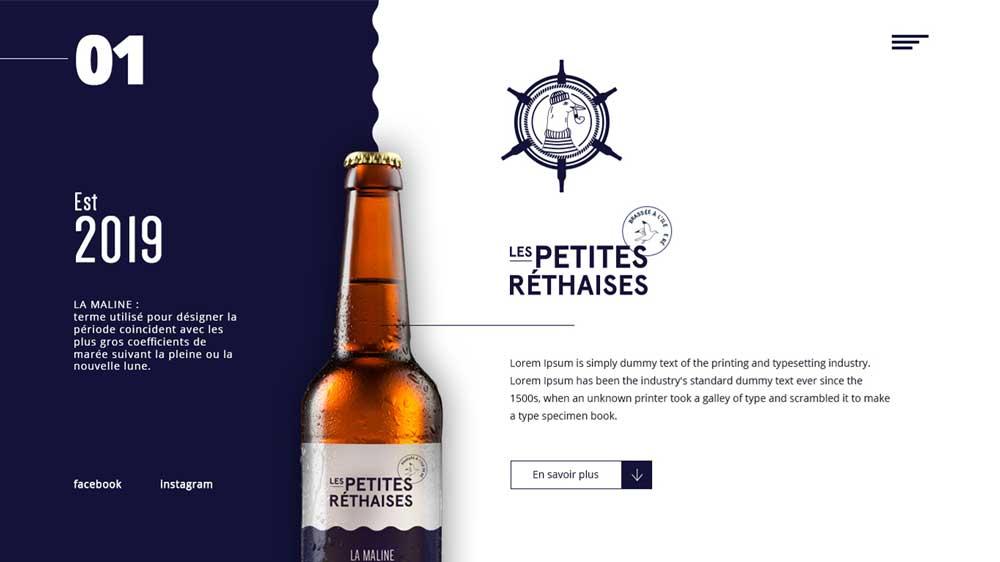 Les Petite Rethaises Company Profile Web Design - Website Profil Perusahaan - Les Petite Rethaises Company Profile Web Design