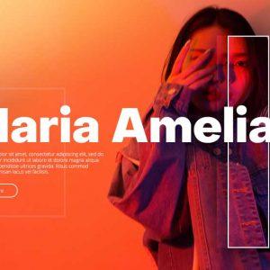 Mariaamelia Portfolio Web Design