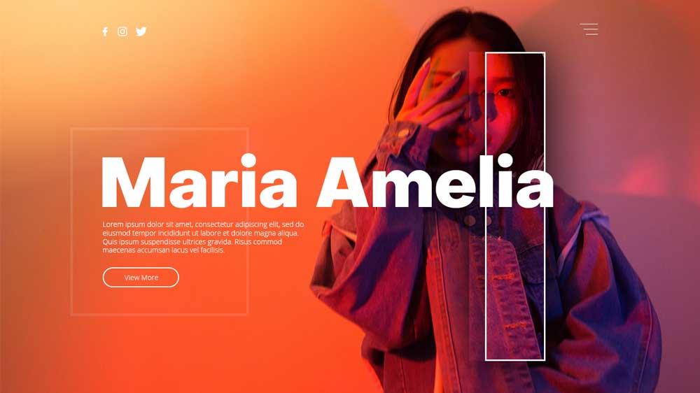 Mariaamelia Portfolio Web Design - Paket Website Portfolio - Mariaamelia Portfolio Web Design