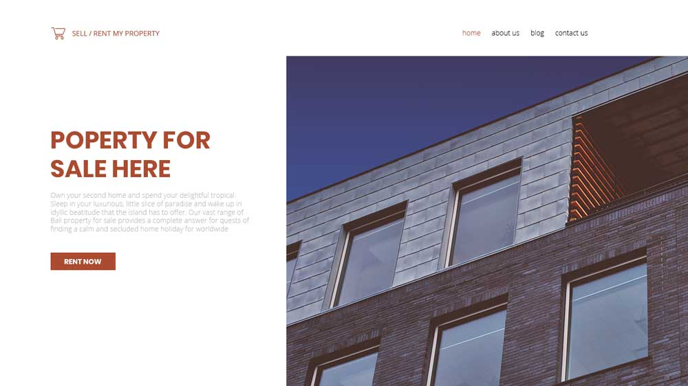 Propertysale Property Agency Web Design - Paket Website Property Agency - Propertysale Property Agency Web Design
