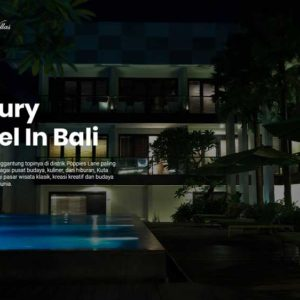 Semplay Villas Hotel And Villas Web Design