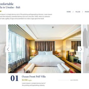Tamara Villas Hotel And Villas Web Design