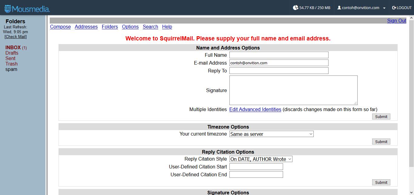 Webmailsuariel