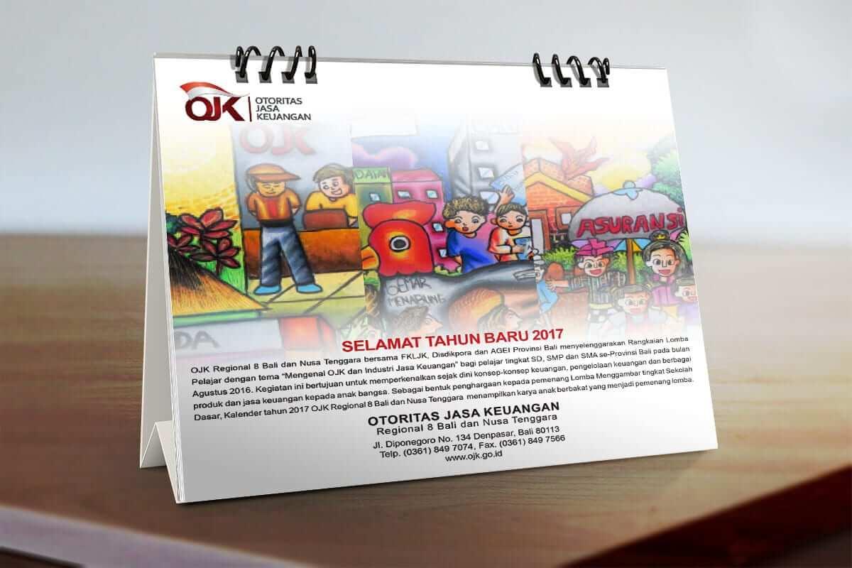 Calendar Ojk Bali 2017 Cover