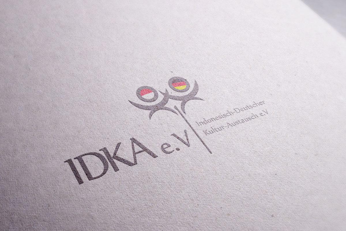 Idka Logo Mocup