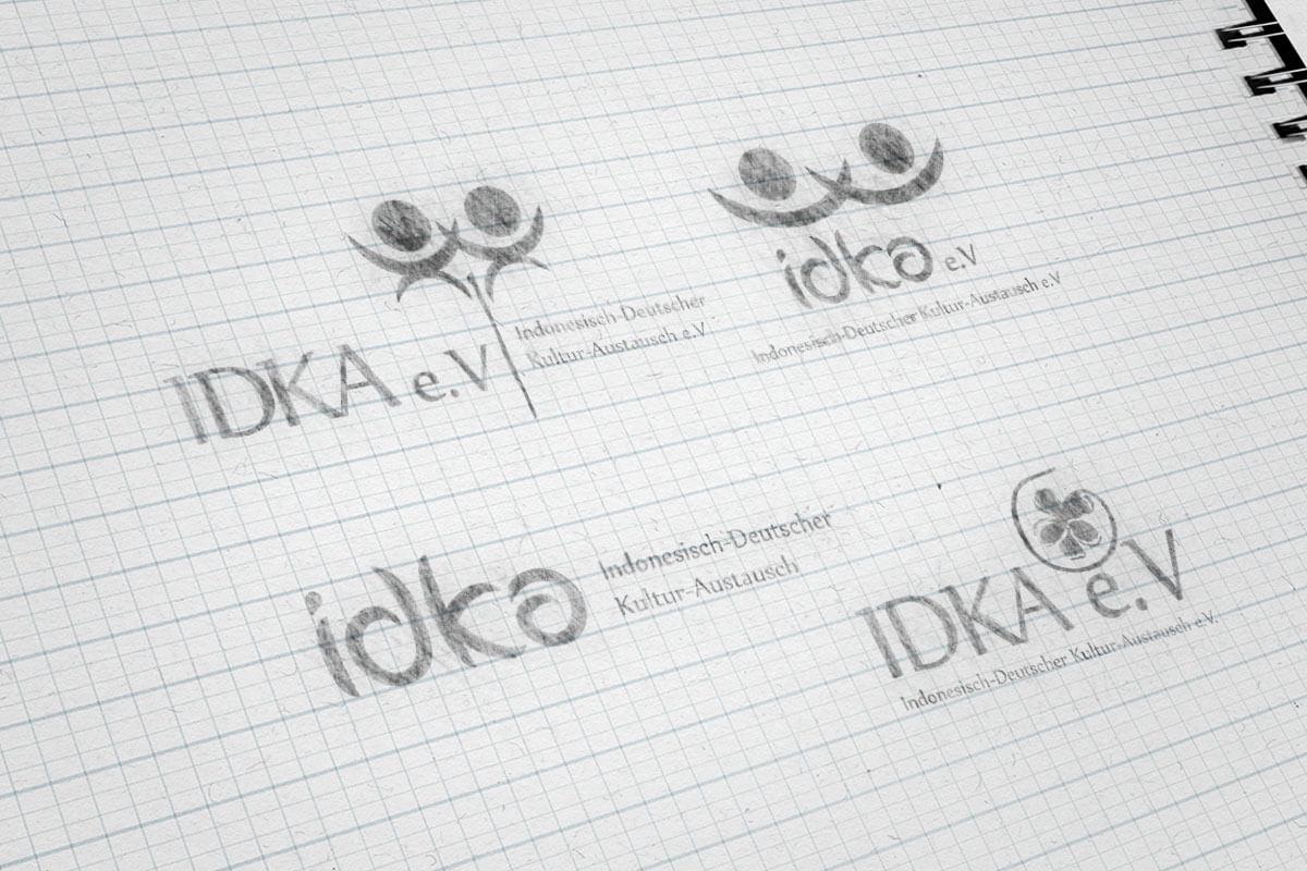 Idka Logo Sketch