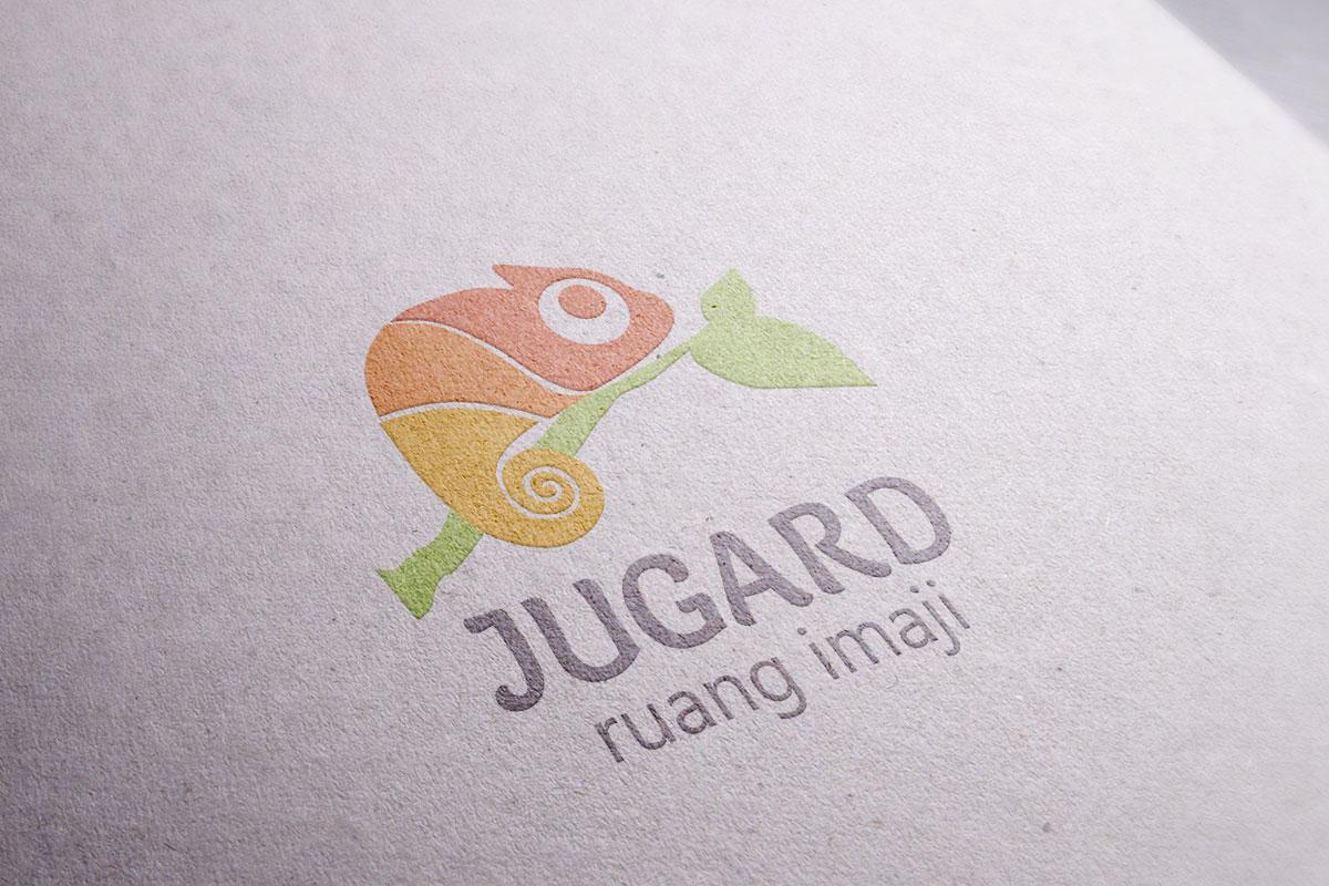 Jugard Logo Mocup