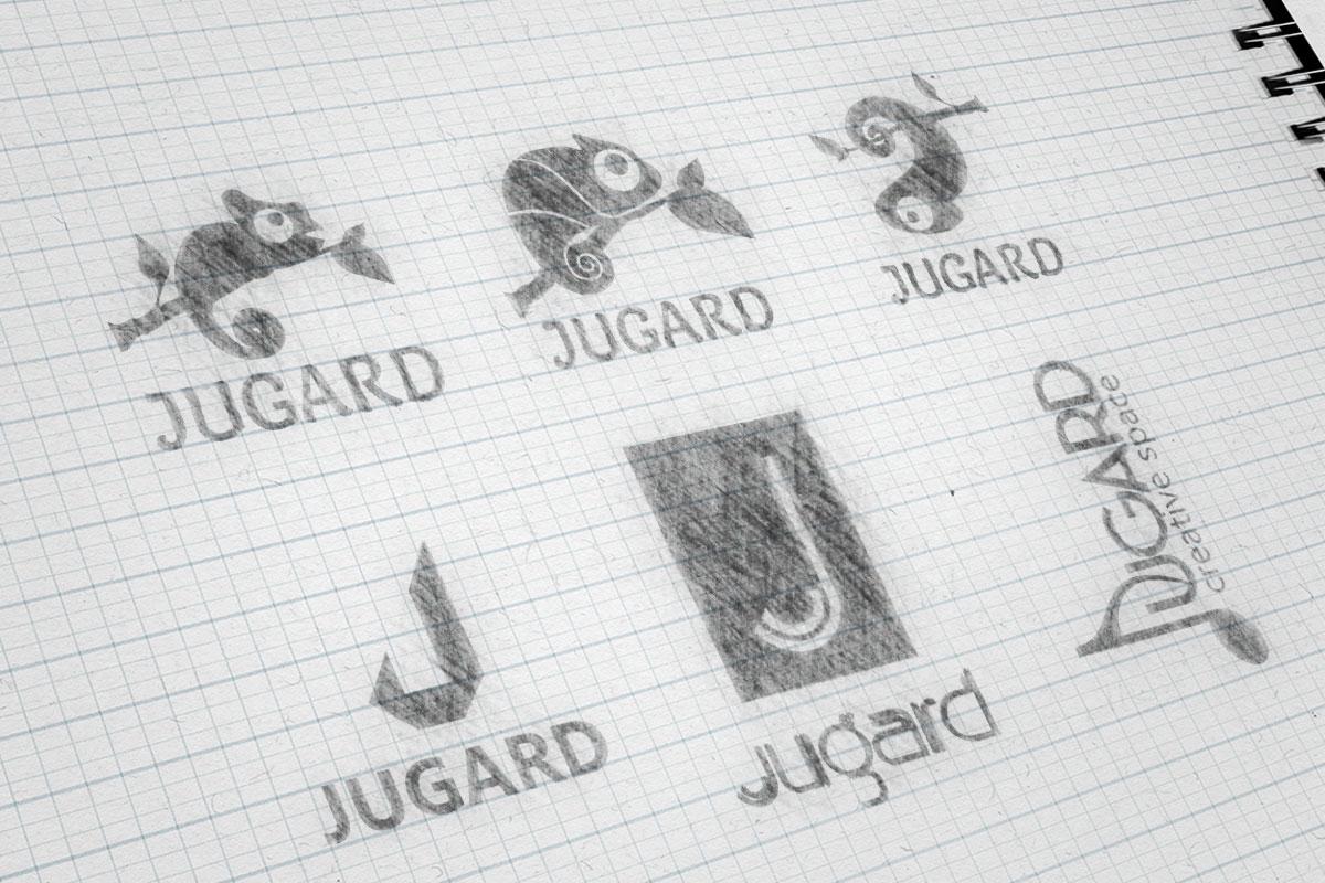 Jugard Logo Sketch