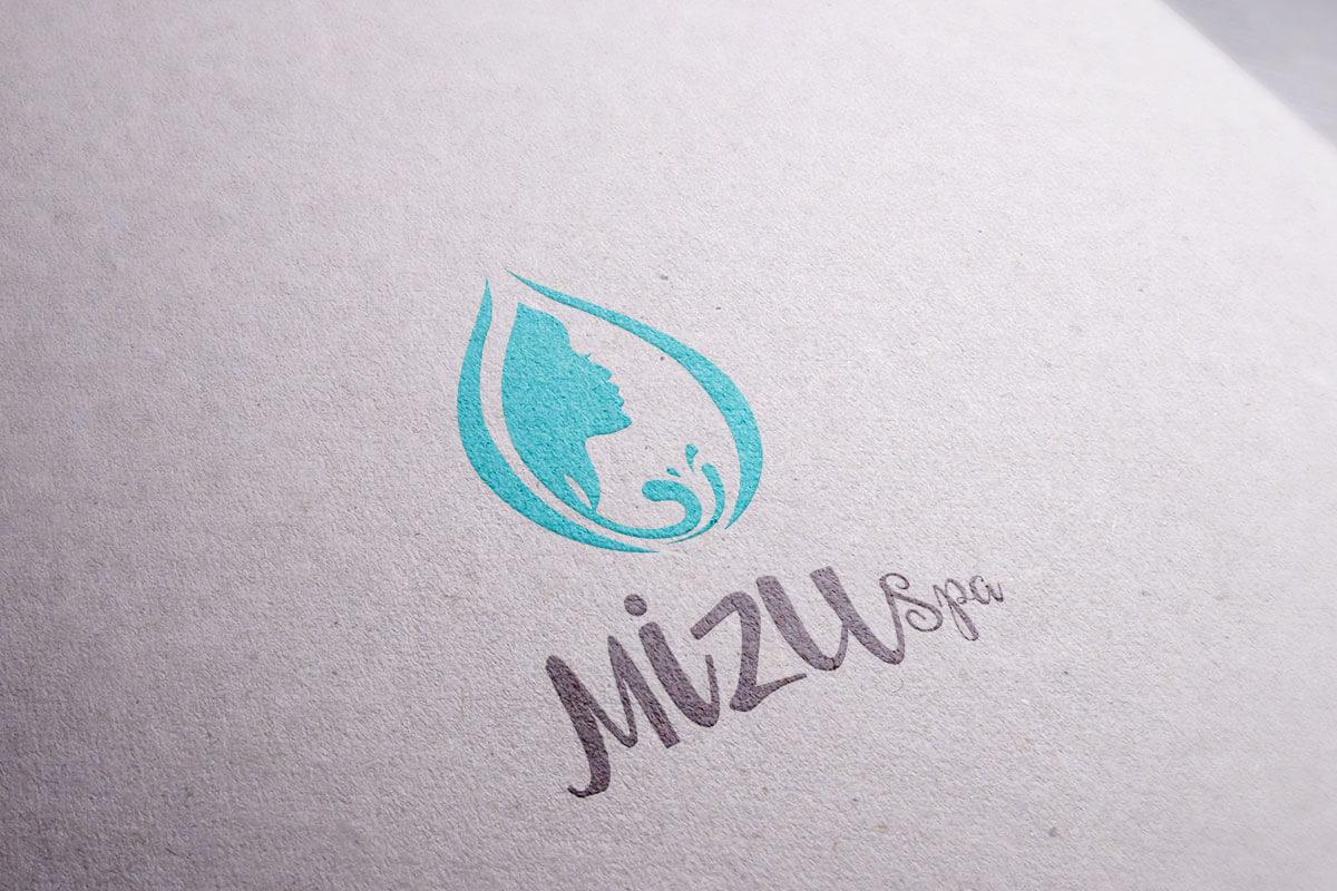 Mizu Bali Spa Logo Mocup