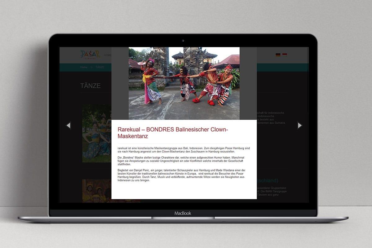 Pasar Hamburg 2016 Web Design Mocup 3