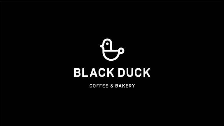 Black Duck Café Dan Bakery Oleh Deividas Bielskis- 10 Logo Restoran Terbaik