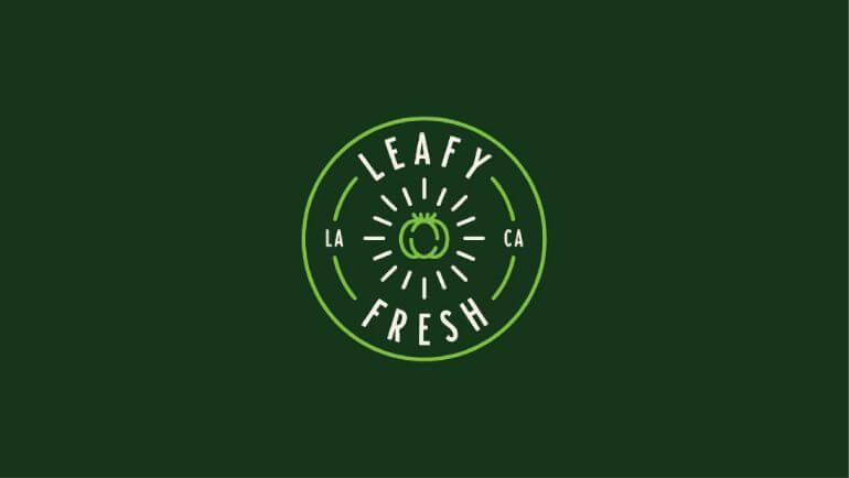 Leafy Fresh Oleh Ryan Prudhomme- 10 Logo Restoran Terbaik