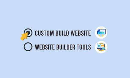 Choosing a custom website or online store builder - How to start an online store website
