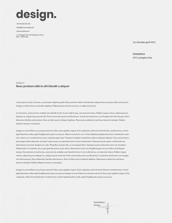 Graphic Design Dan Branding Paper Min